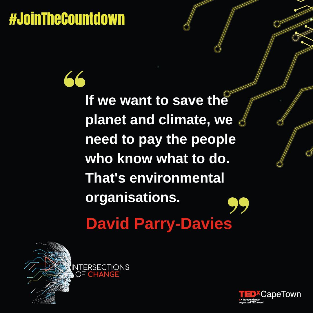 If we want to fight the climate crisis, we need to pay people who know how to - David Parry-Davies